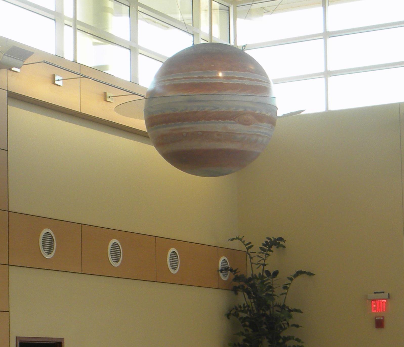 planet jupiter sytrofoam model - photo #5
