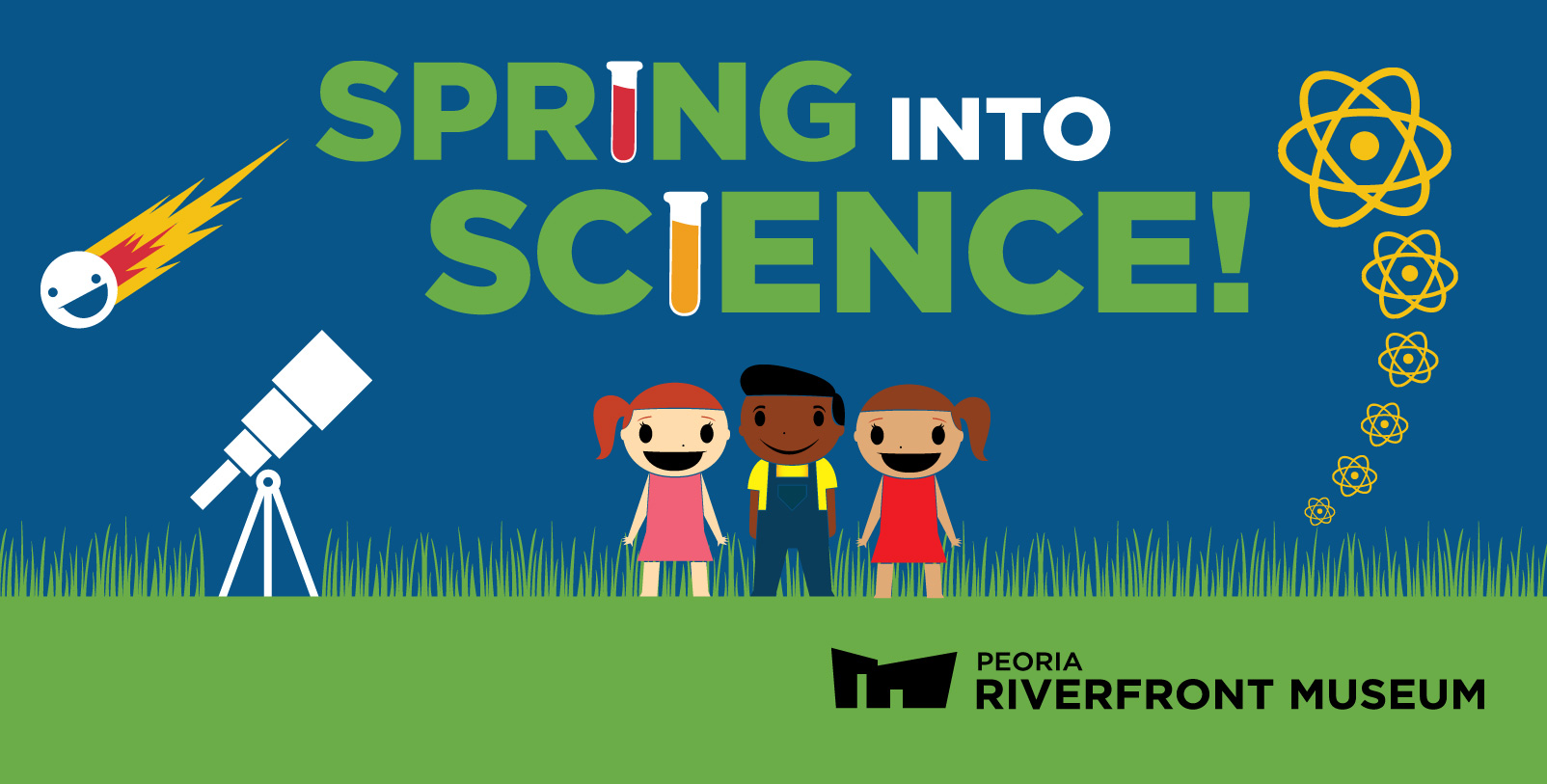 Spring Into Science! Web Banner