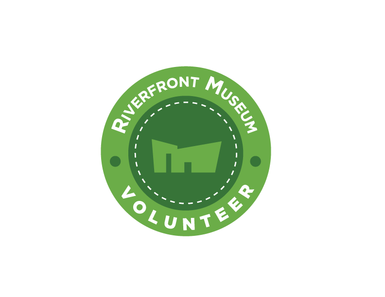 Riverfront Museum Volunteer Logo