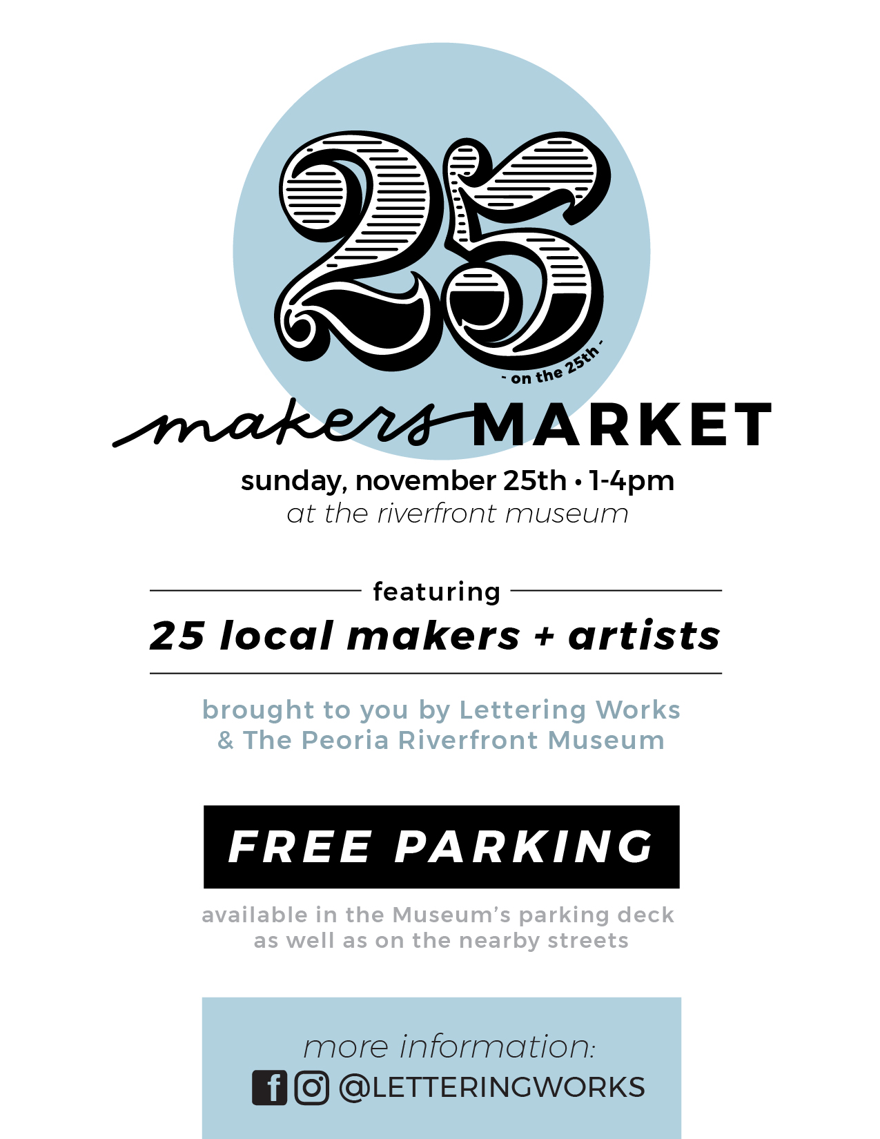 Makers Market Promo 25onthe25th