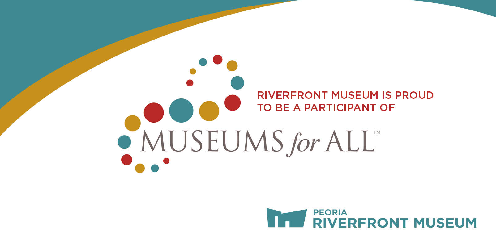 Museums For All Web Banner