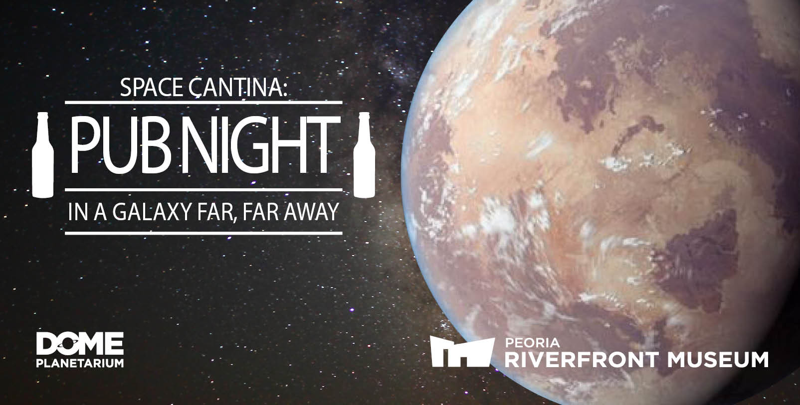 Space Cantina Genera; Web Banner
