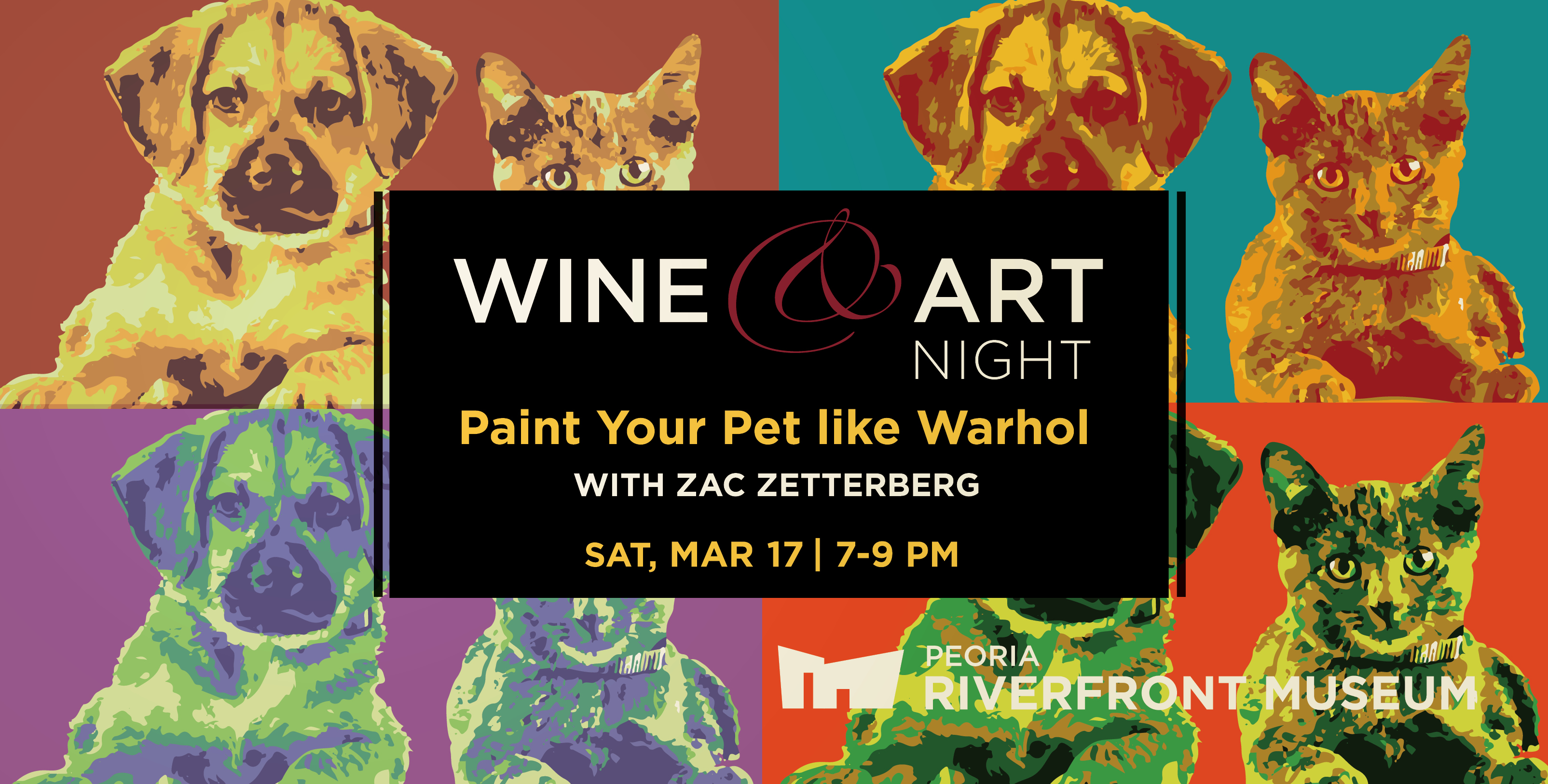 Wine&Art Zac Wb Pets