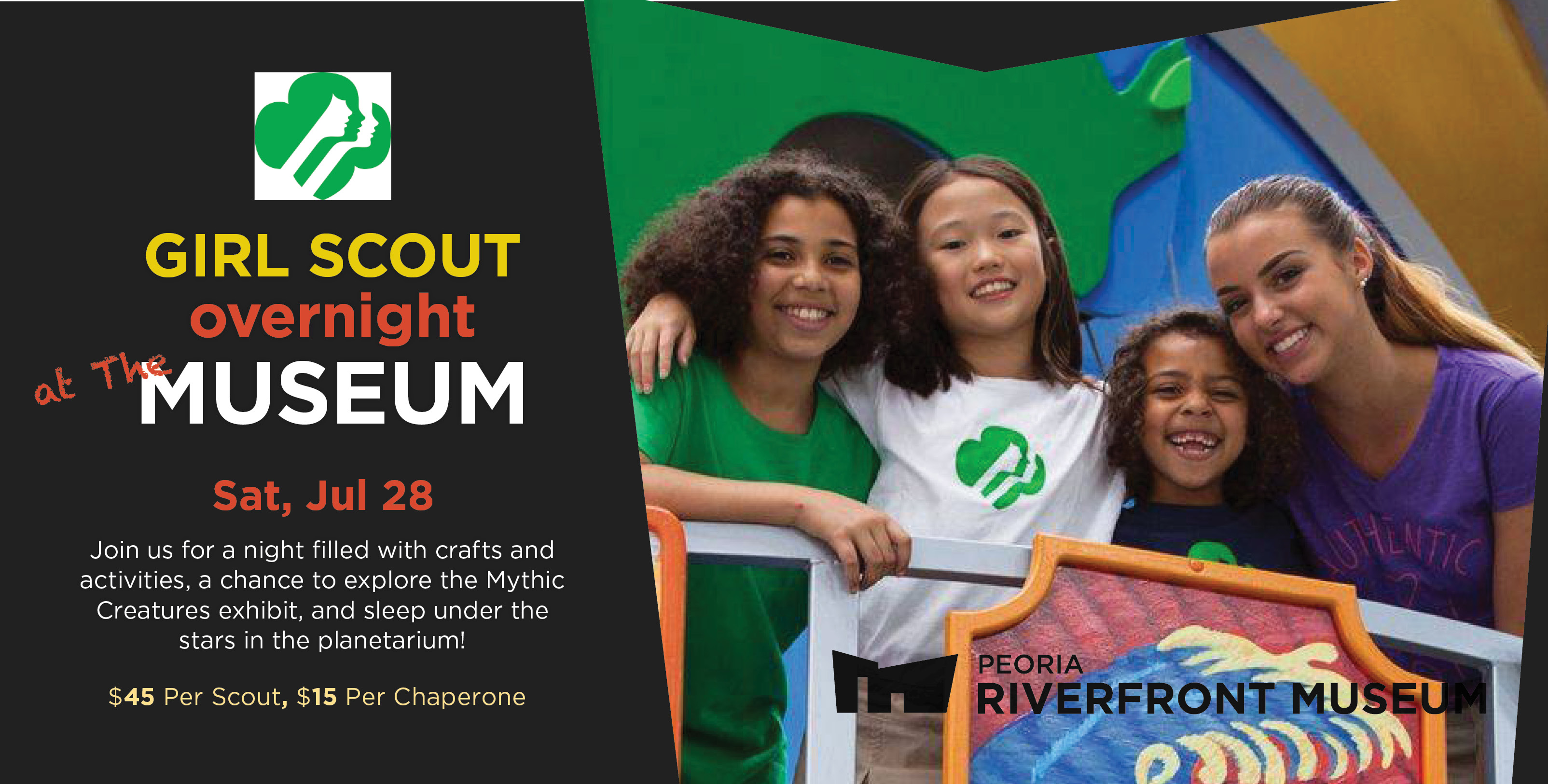 Girl Scout Overnight At The Museum 2018